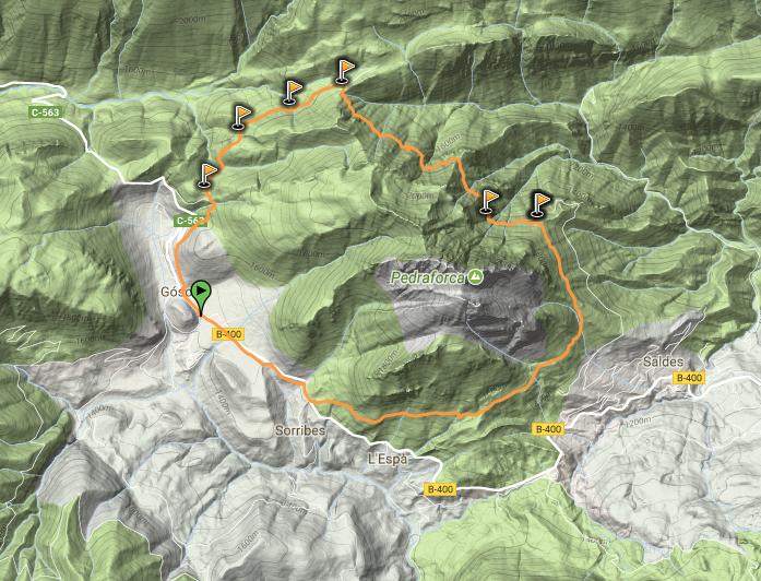 Ruta circular PR-C-127 Pedraforca 360º